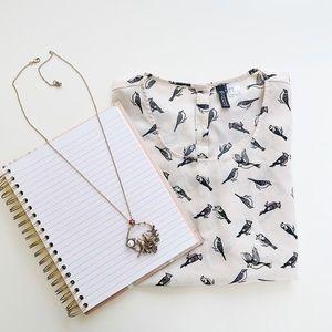 Love Birds Vintage Necklace